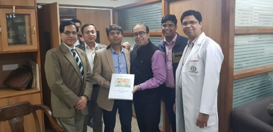 Face Reconstructive Surgery: presentazione in India all'Università di Nuova Delhi