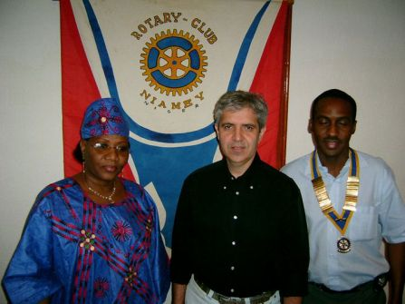 Daniel Cataldo - Rotary Club of Niamey, Niger